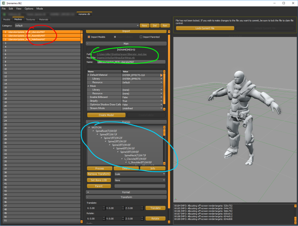 Modding: Creating a Skinned Model for the game - AoW: Planetfall